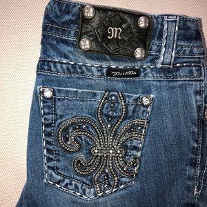 Miss Me Jeans / Studded Fleur de lys ⚜️